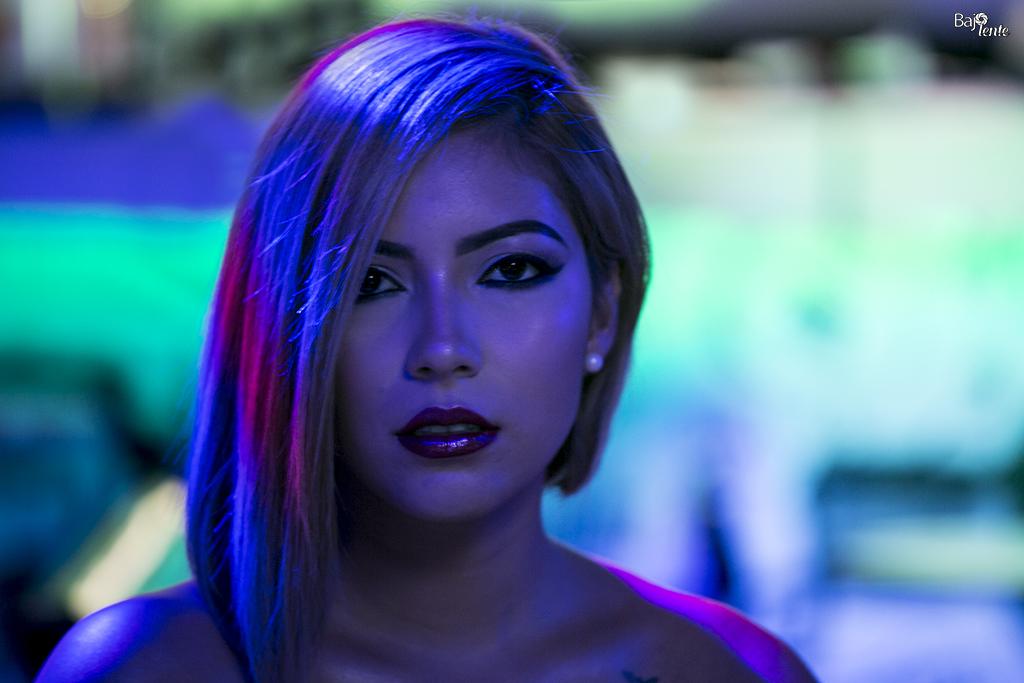 La Comunicadora Social, Natalia Flórez, posó para BajoLente