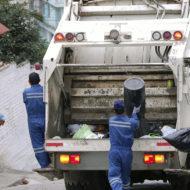 Recolección de basuras afectada por derrumbe en la Autopista Norte.