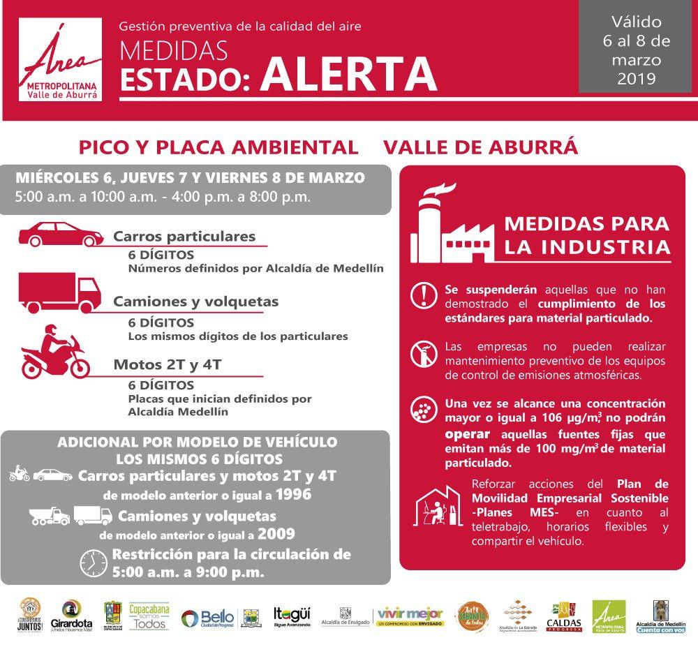 Con largas filas en el metro inició el pico y placa extendido en Medellín