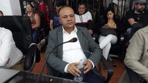Foto: Carlos Mauricio Ríos, vicepresidente primero del Concejo Municipal.