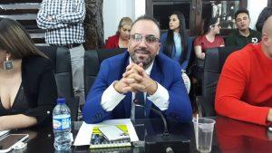 Foto: Carlos Andrés Quintero, presidente del Concejo Municipal.