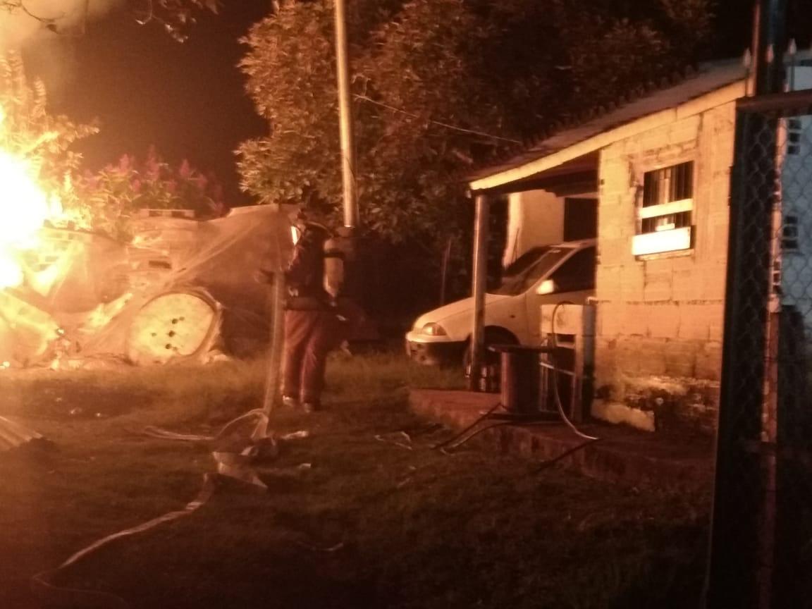 Incendio en un taller de Marinilla no dejó víctimas fatales