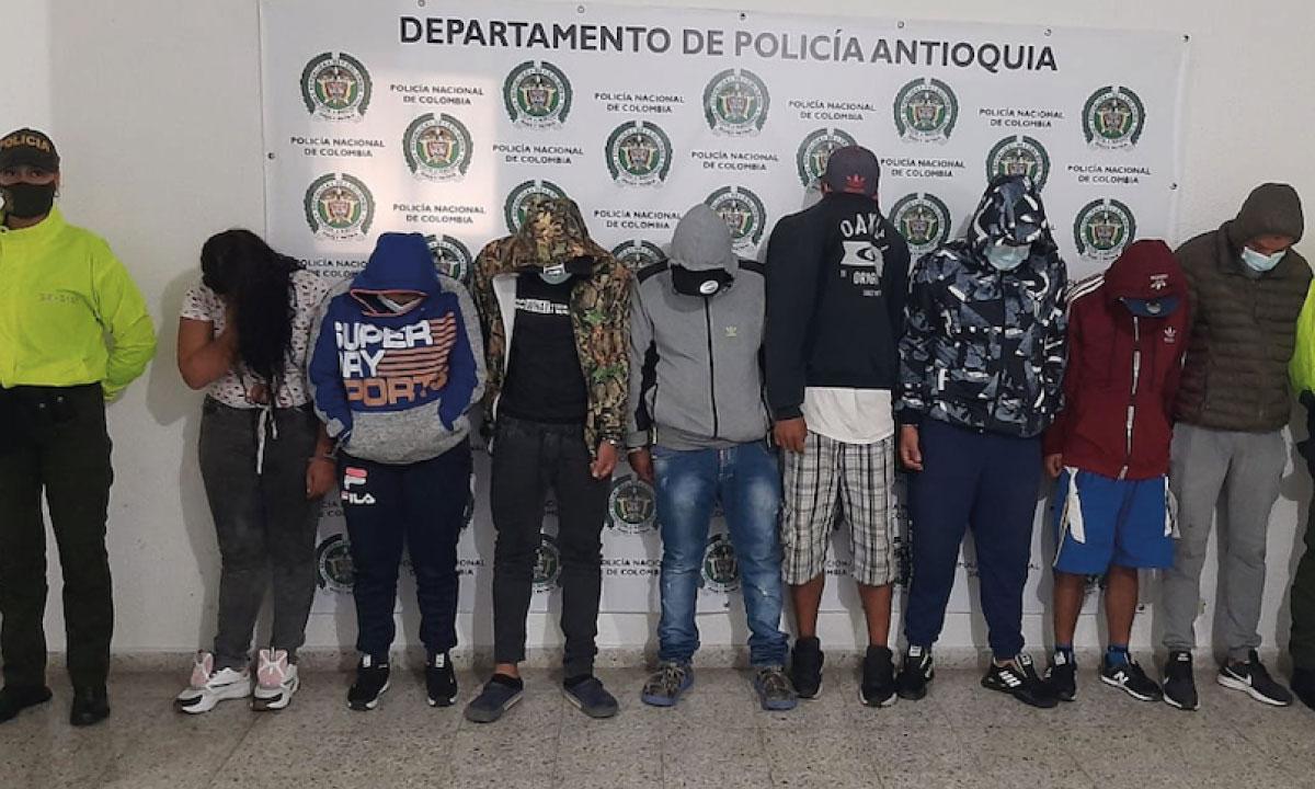 Robaban en grupo: nueve presuntos ladrones de Abejorral tendrán que  enfrentar la justicia | MiOriente