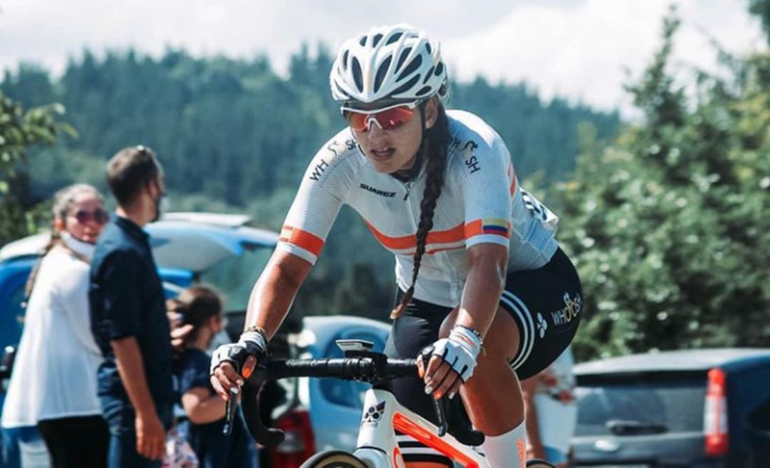 Katherin Montoya, ciclista paisa equipo Colnago