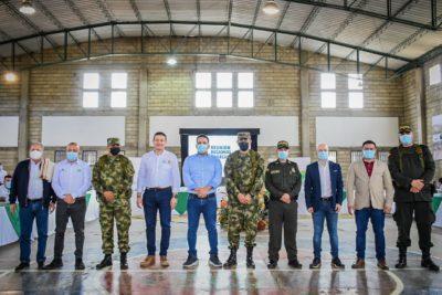 Consejo de seguridad regional en Abejorral.