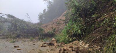 Afectaciones por las lluvias en Sonsón, Antioquia.