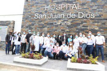 Gobernación inauguró mejoras en el Hospital de El Peñol.