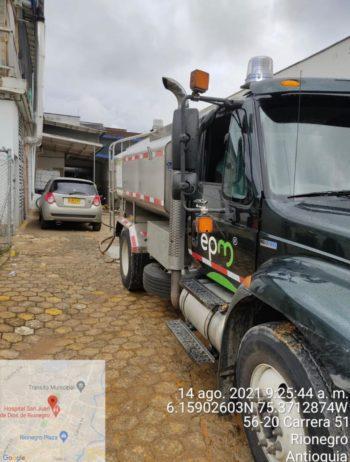 EPM suspende nuevamente el servicio de acueducto en Rionegro
