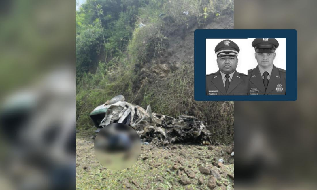 Dos policías muertos y dos más heridos deja atentado en Frontino