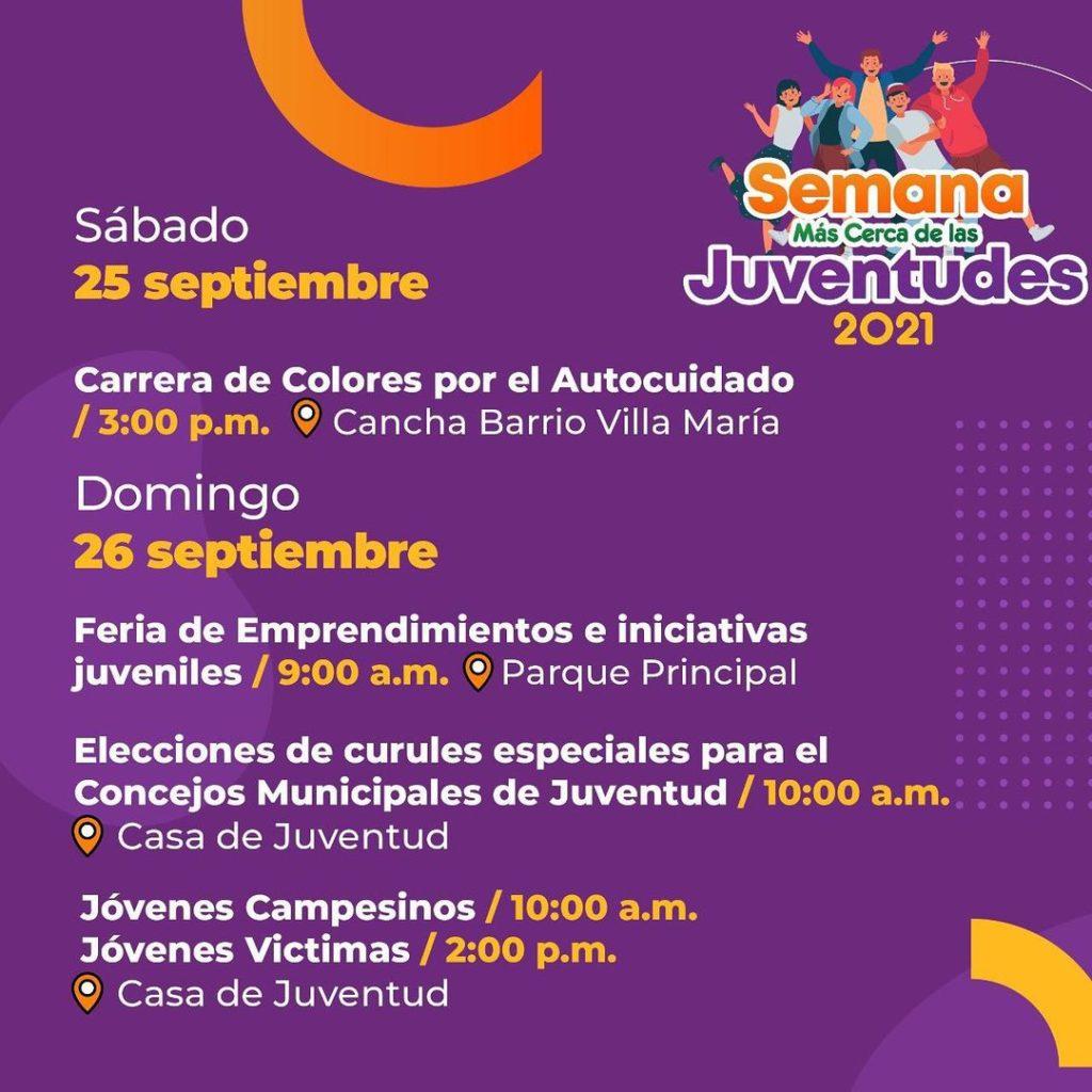 Semana de la Juventud, El Carmen de Viboral.