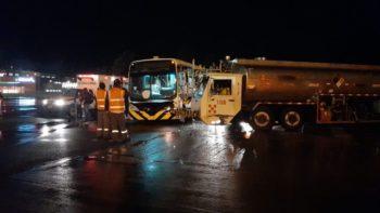 Accidente en el aeropuerto JMC de Rionegro.