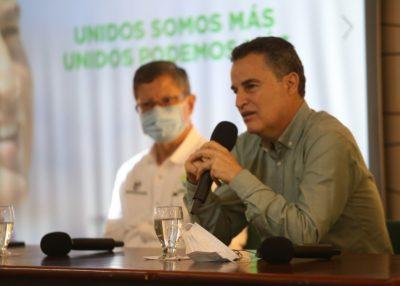 Aníbal Gaviria Correa, gobernador de Antioquia.