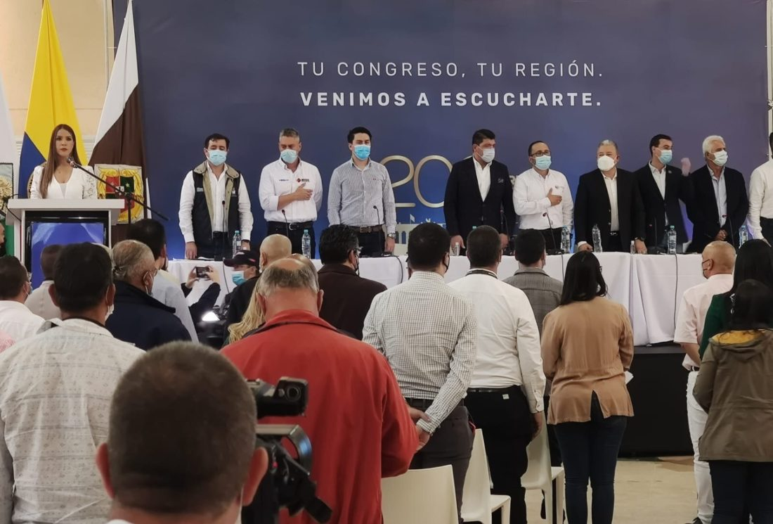 Foro de movilidad del Oriente de Antioquia, acompañamiento del Congreso.