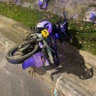 Accidente en la Autopista Medellín - Bogotá. Autoridades buscan a los familiares de la víctima.