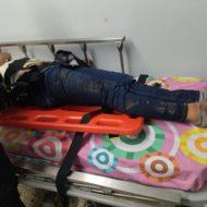 Accidente de tránsito en Nariño. Dos personas se fueron al vacío.