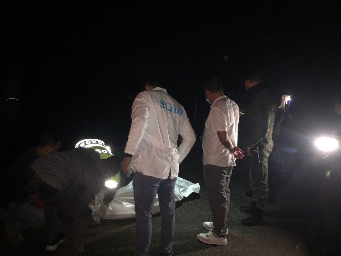 Consternación en Argelia. El municipio registró el primer homicidio del año.