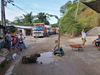 Habitantes de La Danta, en Sonsón, se declaran en paro.