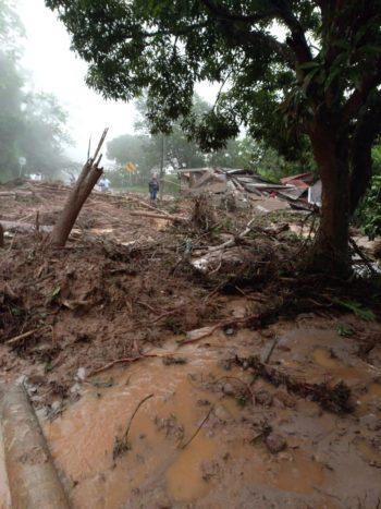 Deslizamientos en San Luis