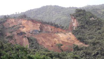 En la mañana de este viernes se presentó una explosión y un movimiento de la montaña en el sector Canteras, en la mina El Toro, en Abejorral.
