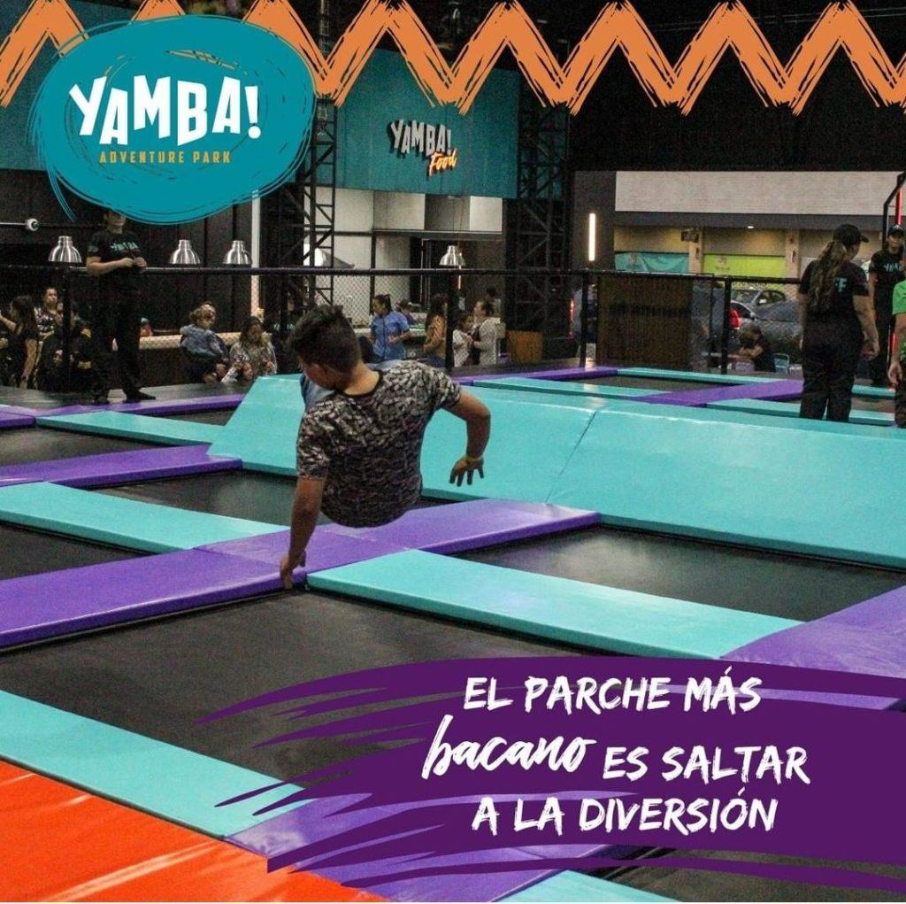 Yamba es un parque de diversiones. Visítelo en esta temporada de receso escolar.
