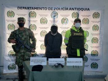 Capturan a un hombre en Rionegro, lo acusan de secuestro.