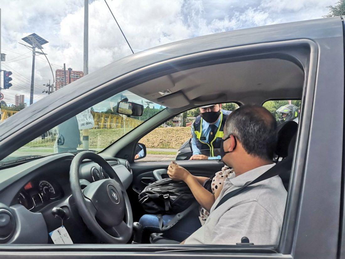 Agentes de tránsito aplicaron en una semana 211 comparendos de tránsito.